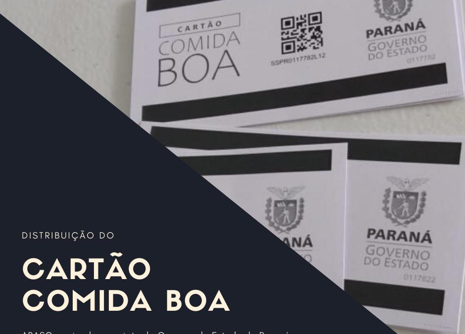ABASC na distribuição do Cartão Comida Boa